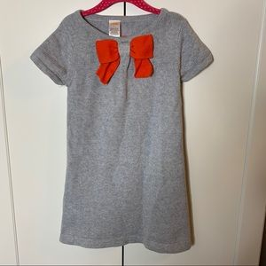 Girl's Gymboree Bow Front Sweater Dress